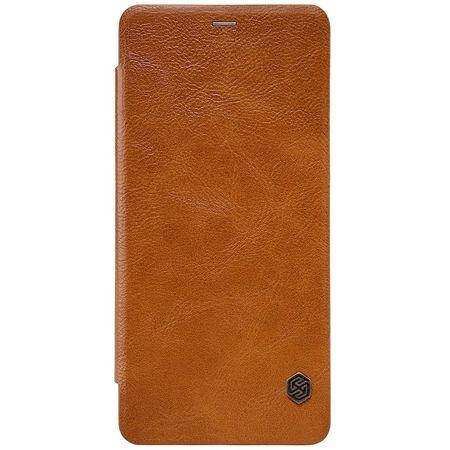 Nillkin - Samsung Galaxy A8 (2018) Hülle - Leder Book Case - Qin Series - braun