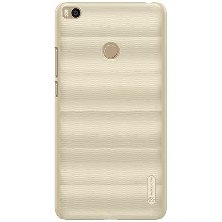 Nillkin - Xiaomi Mi Max 2 Hülle - Plastik Case - Super Frosted Shield Series - gold
