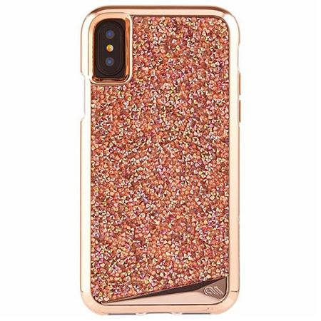 Case-Mate - iPhone X Hülle - Backcover - BRILLIANCE - rosegold