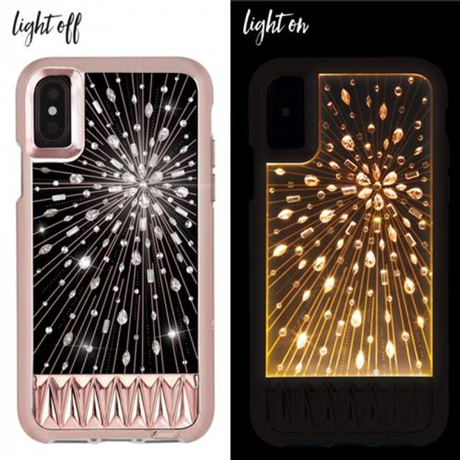 Case-Mate Case-Mate - iPhone XS / X Hülle - Backcover - LUMINESCENT - transparent