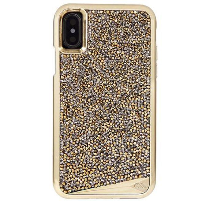 Case-Mate Case-Mate - iPhone XS / X Hülle - Backcover - BRILLIANCE - gold