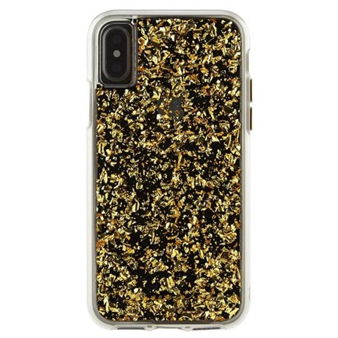 Case-Mate Case-Mate - iPhone XS / X Hülle - Backcover - KARAT - gold