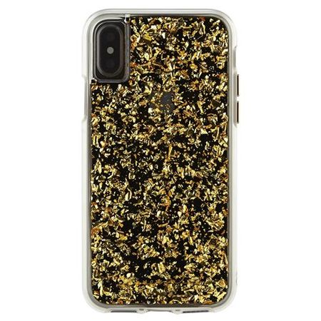 Case-Mate - iPhone XS / X Hülle - Backcover - KARAT - gold
