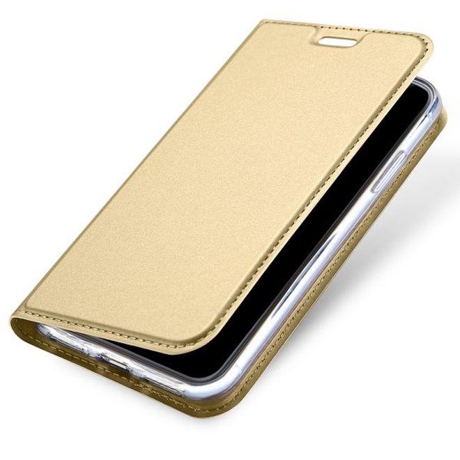 Dux Ducis Dux Ducis - iPhone XS / X Hülle - Handy Bookcover - Skin Pro Series - gold