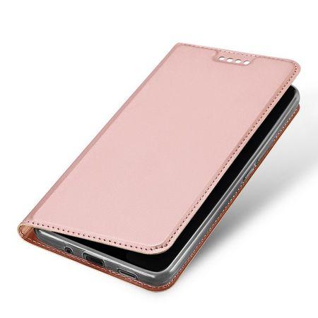 Dux Ducis - HTC U11 Plus Hülle - Case aus Leder - Skin Pro Series - rosegold