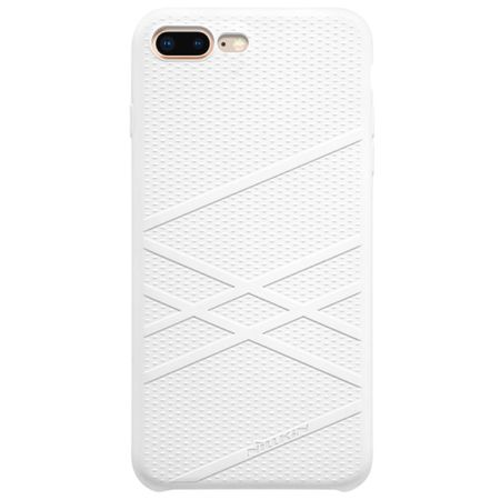 Nillkin - iPhone 8 Plus / 7 Plus Silikon Hülle - Flex Case Series - weiss