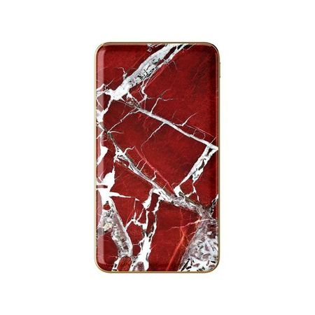 iDeal of Sweden - Power Bank - 5000 mAh - Scarlet Red Marble - mehrfarbig