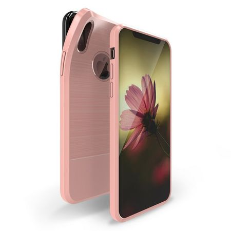 Dux Ducis - iPhone XS / X Hülle - Mojo TPU Case mit Magnet - rosegold