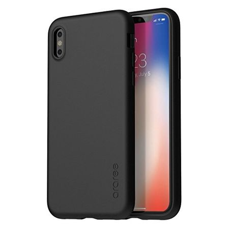 Araree - iPhone X Handy Hülle - Case aus TPU Plastik - Airfit Series - schwarz