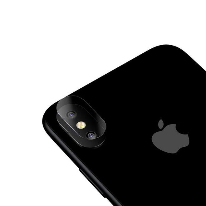 Baseus Baseus - iPhone X Dual Kamera Panzer Glas Displayschutz - 0.1mm - transparent
