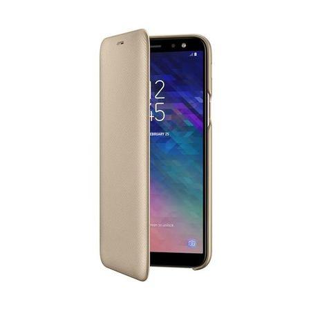 Samsung - Galaxy A6 Hülle - Wallet Cover - EF-WA600CFEGWW - gold