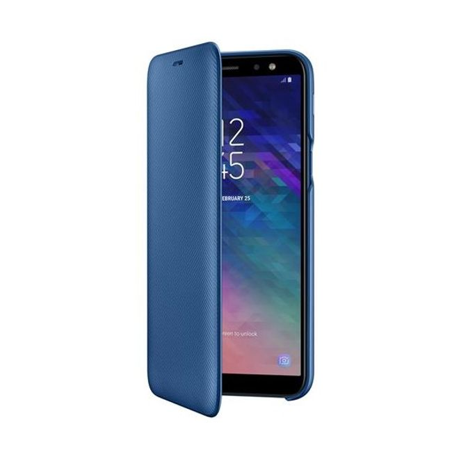 Samsung Samsung - Galaxy A6 Hülle - Wallet Cover - EF-WA600CLEGWW - blau