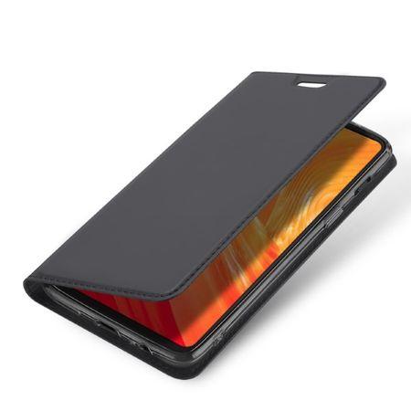 Dux Ducis - OnePlus 6 Hülle - Handy Bookcover - Skin Pro Series - dunkelgrau