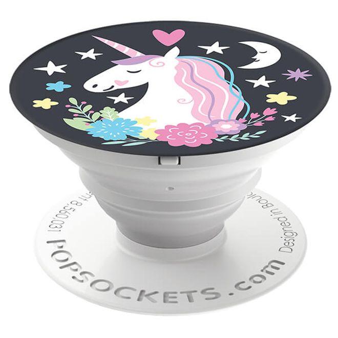 Popsockets PopSockets - Finger Griff Halterung für Handys / Tablets - (96569) Unicorn Dreams