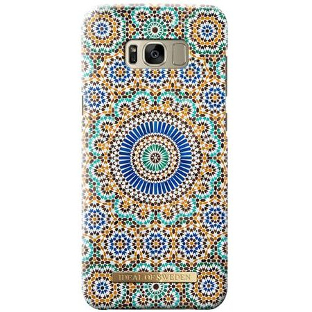 iDeal of Sweden - Samsung Galaxy S8 Plus Hülle - Designer Case MOROCCAN Zellige - mehrfarbig