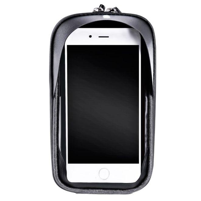 Wheel Up Wheel Up - Nylon Fahrrad Halterung - wasserdicht und touchfähig - für Handys bis 6 Zoll - schwarz