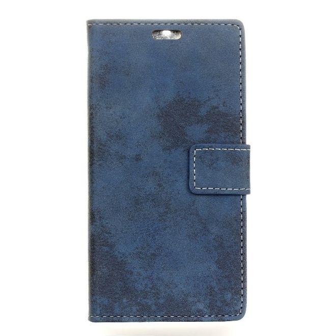 iphone xr handyh lle vintage leder bookcover series blau. Black Bedroom Furniture Sets. Home Design Ideas