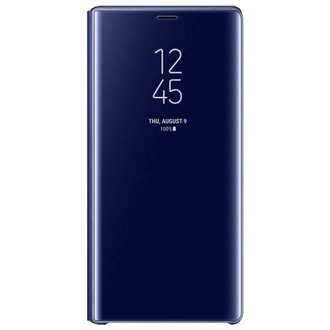 Samsung Samsung - Galaxy Note 9 Original Hülle - Clear View Standing Cover - EF-ZN960 - blau