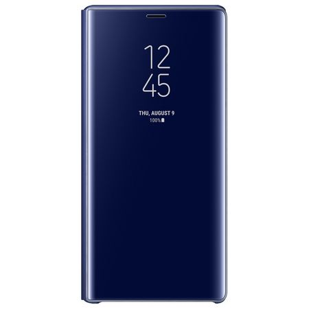 Samsung - Galaxy Note 9 Original Hülle - Clear View Standing Cover - EF-ZN960 - blau