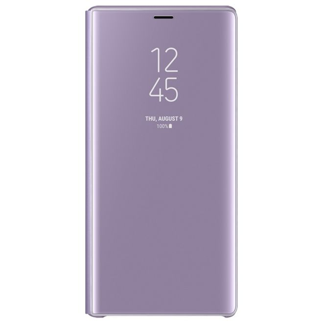 Samsung Samsung - Galaxy Note 9 Original Hülle - Clear View Standing Cover - EF-ZN960 - lavendel