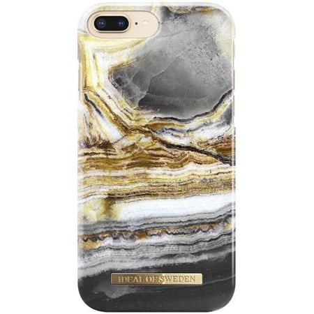 iDeal of Sweden - iPhone 8 Plus / 7 Plus Handyhülle, Designer Case Outer Space Agate - mehrfarbig