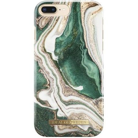 iDeal of Sweden - iPhone 8 Plus / 7 Plus Handyhülle, Designer Case Golden Jade Marble - mehrfarbig