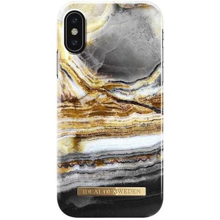 iDeal of Sweden - iPhone XS / X Handyhülle, Designer Case Outer Space Agate - mehrfarbig