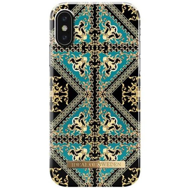 iDeal of Sweden iDeal of Sweden - iPhone XS / X Handyhülle, Designer Case Baroque Ornament - mehrfarbig