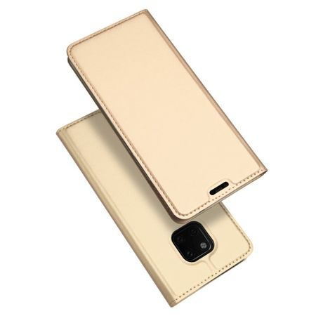 Dux Ducis - Huawei Mate 20 Pro Hülle - Handy Bookcover - Skin Pro Series - gold