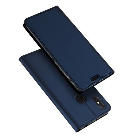 Dux Ducis -  Xiaomi Mi Max 3 Pro Hülle - Handy Bookcover - Skin Pro Series - blau