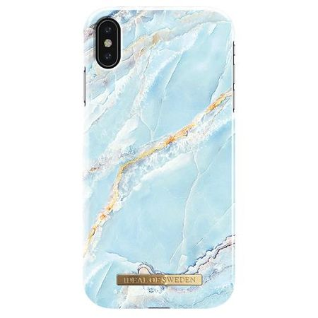 iDeal of Sweden - iPhone XS Max Hülle, Designer Case Island Paradise Marble - mehrfarbig