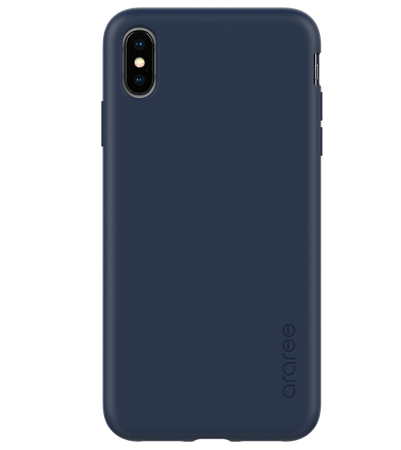 Araree - iPhone XS / X Hülle - Case aus TPU Plastik - A-Fit Series - blau