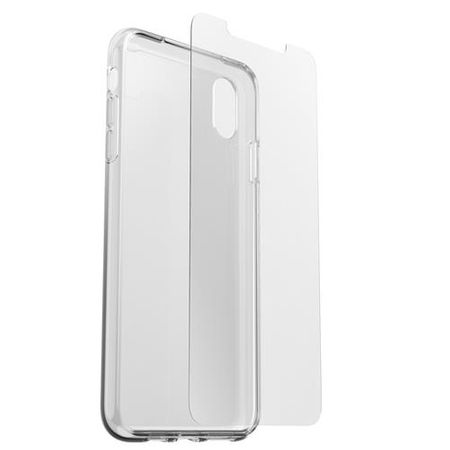 Otterbox - Clearly Protected Kit für iPhone XS Max Back-Cover - transparent