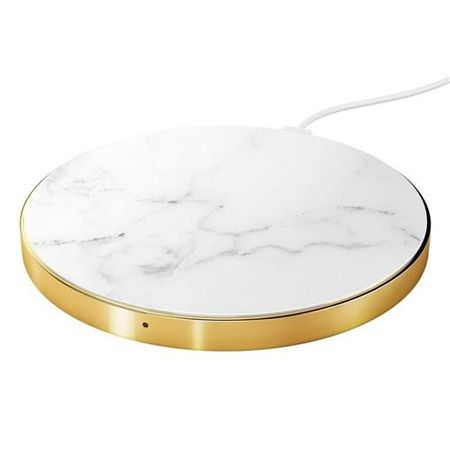 iDeal of Sweden - Qi Wireless Ladestation - Fast Charge (10W) - White Marble - mehrfarbig