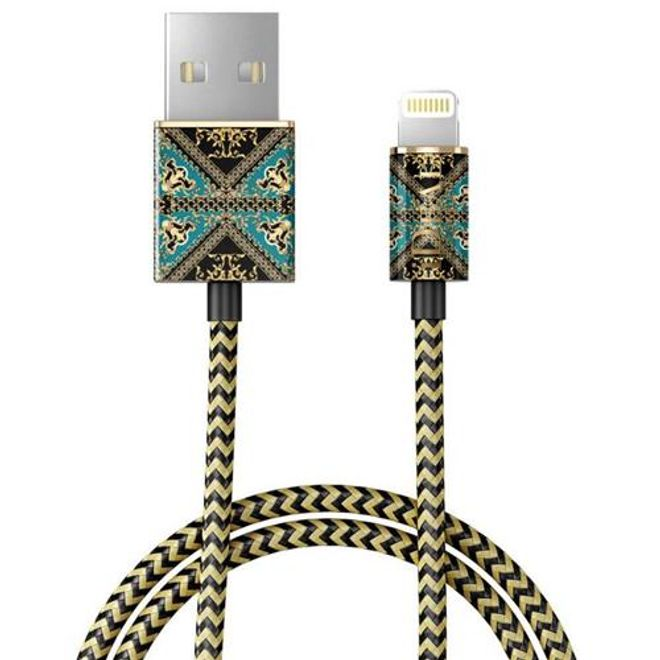 iDeal of Sweden iDeal of Sweden - Lightning Lade- und Datenkabel MFI (1m) - Baroque Ornament - mehrfarbig/Muster