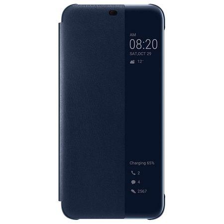 Huawei - Original Mate 20 Lite Hülle - Smart View Flip Cover - 51992654 - blau