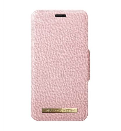 iDeal of Sweden - iPhone XS Max Handyhülle, Designer Bookcase FASHION - pink