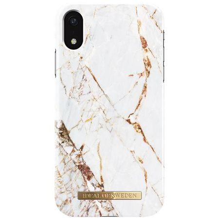 iDeal of Sweden - iPhone XR Hülle, Designer Case Carrara Gold - mehrfarbig