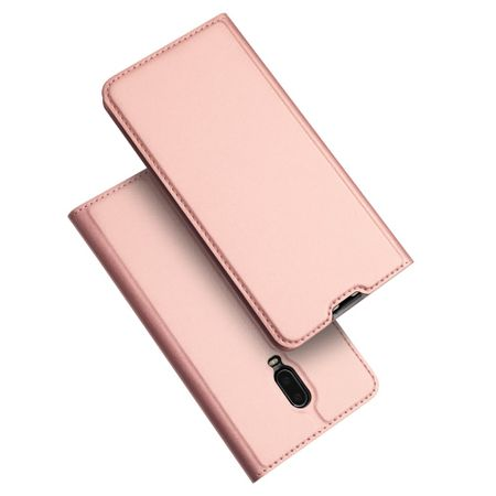 Dux Ducis -  OnePlus 6T Hülle - Handy Bookcover - Skin Pro Series - rosegold