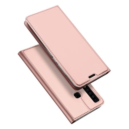 Dux Ducis -  Samsung Galaxy A9 (2018) Hülle - Handy Bookcover - Skin Pro Series - rosegold