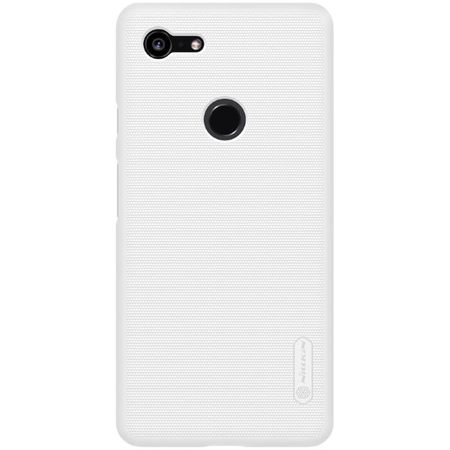 Nillkin - Google Pixel 3 XL Hülle - Plastik Case - Super Frosted Shield Series - weiss