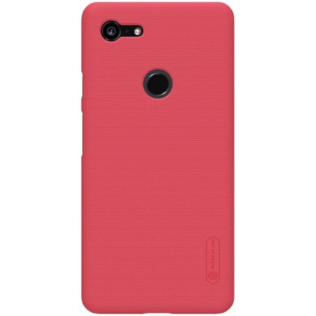 Nillkin - Google Pixel 3 XL Hülle - Plastik Case - Super Frosted Shield Series - rot