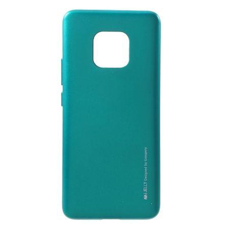 Goospery - Huawei Mate 20 Pro Handy Hülle - TPU Soft Case - i Jelly Metal Series - grün