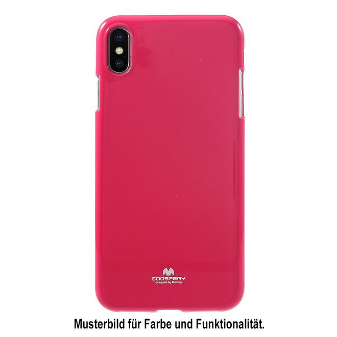 Goospery Goospery - Huawei Mate 20 Pro Handy Hülle - TPU Soft Case - Pearl Jelly Series - pink