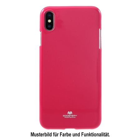 Goospery - Huawei Mate 20 Pro Handy Hülle - TPU Soft Case - Pearl Jelly Series - pink