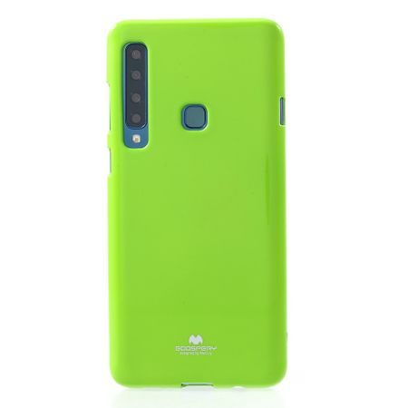 Goospery - Samsung Galaxy A9 (2018) Handy Hülle - TPU Soft Case - Pearl Jelly Series - lime