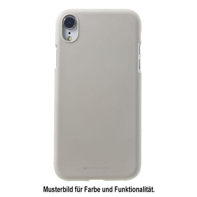 Goospery Mercury Goospery - Huawei Mate 20 Lite Handy Cover - Softcase aus sanftem TPU Plastik - SF Jelly Series - stone