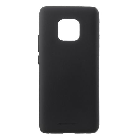 Goospery - Huawei Mate 20 Pro Handy Cover - TPU Soft Case - SF Jelly Series - schwarz