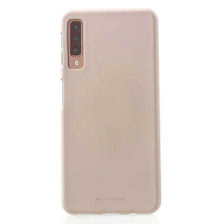 Goospery - Samsung Galaxy A7 (2018) Handy Cover - TPU Soft Case - SF Jelly Series - rosegold