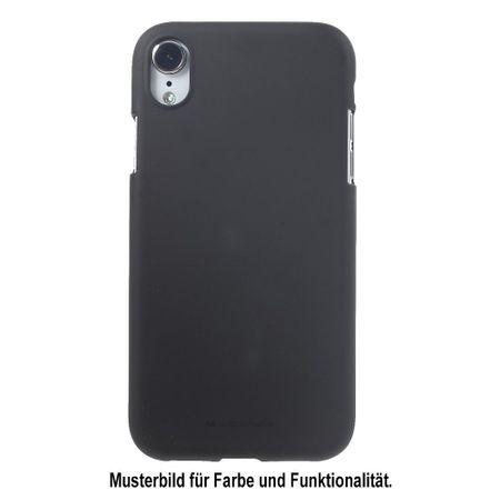Mercury Goospery - Samsung Galaxy J4+ Handy Cover - Softcase aus sanftem TPU Plastik - SF Jelly Series - schwarz